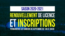 Inscriptions EDR
